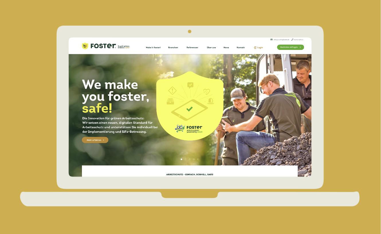Foster Arbeitsschutz Website