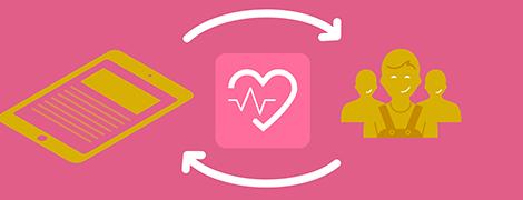 FOSTER App Arbeitsmanagement und Gesundheitsmanagement